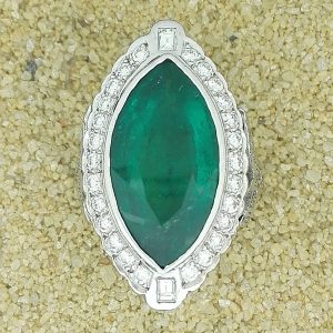 BCL Gemstyle ring/Emerald 1